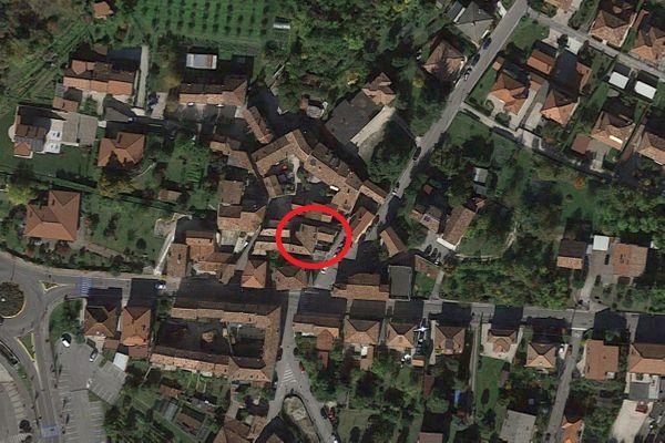 Immagine n0 - Planimetria - Vista aerea - Asta 12966