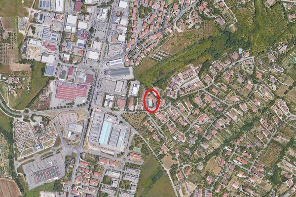 Immagine n0 - Planimetria - Vista aerea - Asta 12967