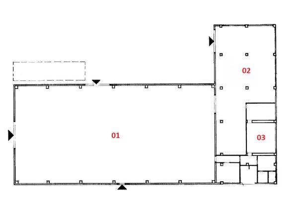 Immagine n2 - Planimetry - Ground floor - Asta 1299