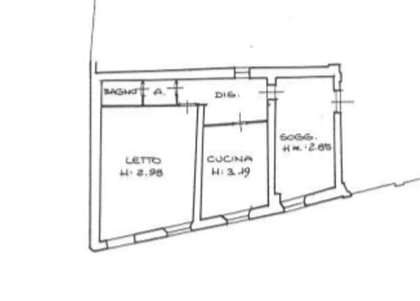 Immagine n1 - Planimetria - Pianta - Asta 130