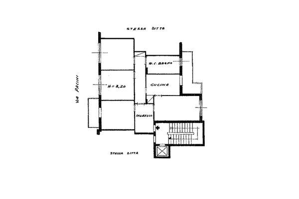Immagine n1 - Planimetry - Third floor - Asta 13038