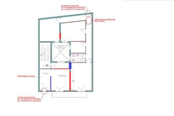 Immagine n1 - Planimetry - Second floor - Asta 13039