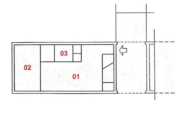Immagine n2 - Planimetria - Piano terra - Asta 1305