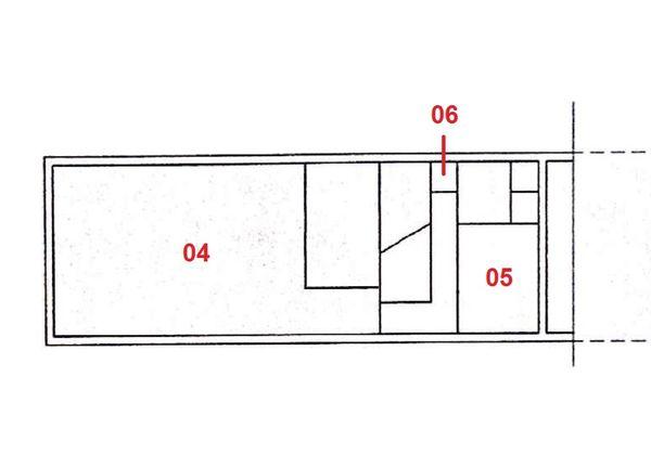Immagine n2 - Planimetria - Piano primo - Asta 1305