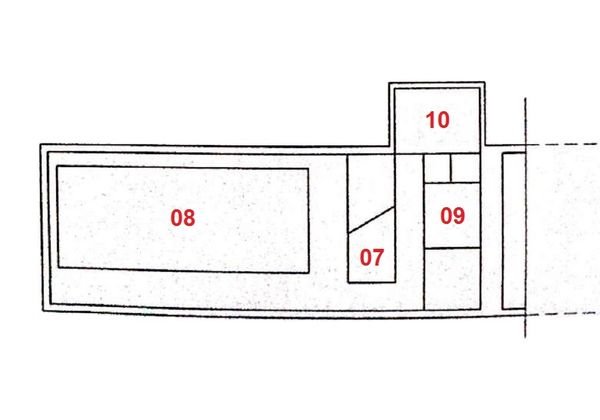 Immagine n3 - Planimetria - Piano seminterrato - Asta 1305