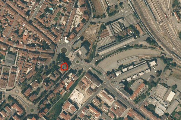 Immagine n0 - Planimetria - Vista aerea - Asta 1306