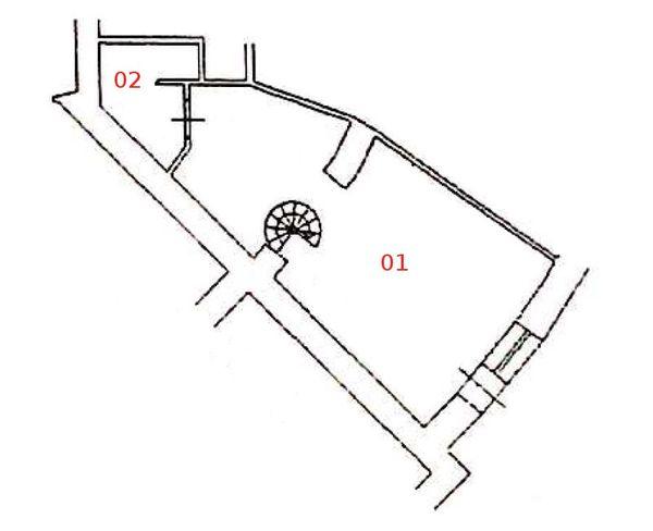 Immagine n1 - Planimetria - Piano terra - Asta 1306