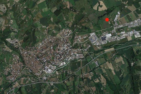Immagine n0 - Planimetria - Vista aerea - Asta 1309