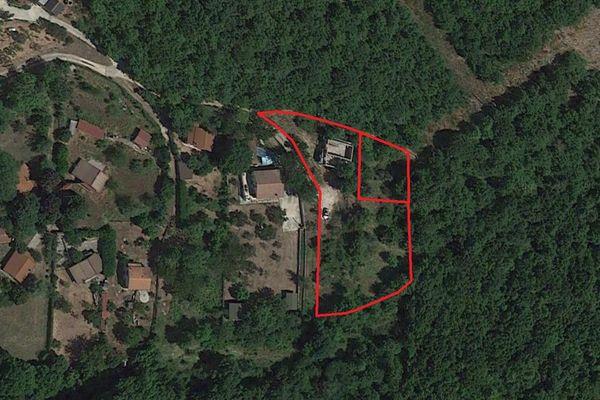 Immagine n0 - Planimetria - Vista aerea - Asta 13096