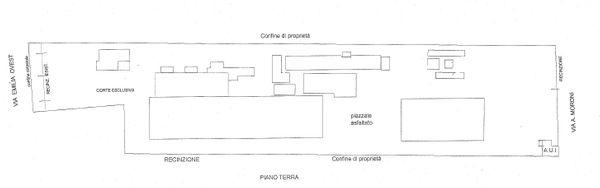 Immagine n1 - Planimetria - Pianta stato di fatto - Asta 131