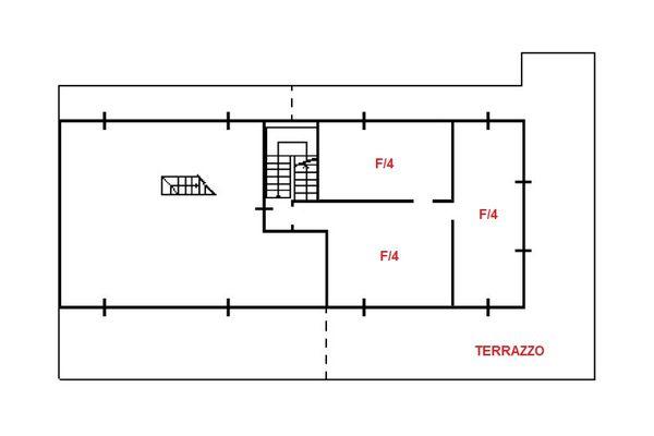 Immagine n1 - Planimetria - Piano primo - Asta 13100
