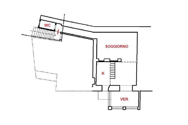 Immagine n1 - Planimetria - Piano secondo - Asta 13101