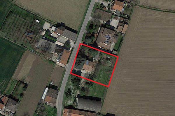 Immagine n0 - Planimetria - Vista aerea - Asta 1314