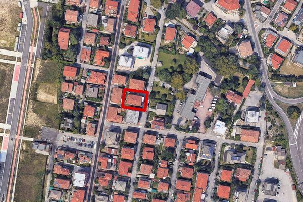 Immagine n0 - Planimetria - Vista aerea - Asta 13158
