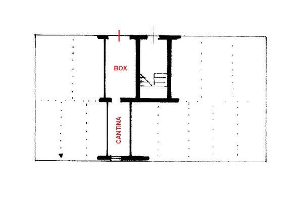 Immagine n2 - Planimetria - Piano terra - Asta 13158