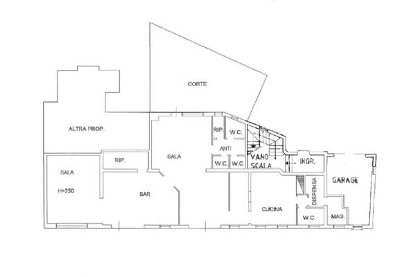Immagine n0 - Planimetria - Piano terra - Asta 13178