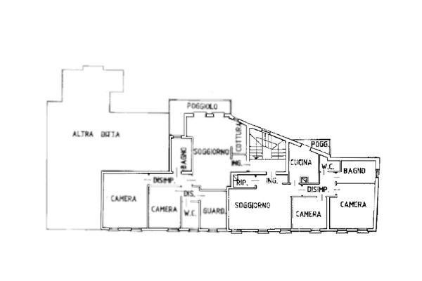 Immagine n0 - Planimetria - Piano primo - Asta 13178