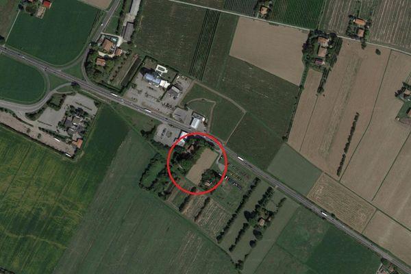 Immagine n0 - Planimetria - Vista aerea - Asta 13182