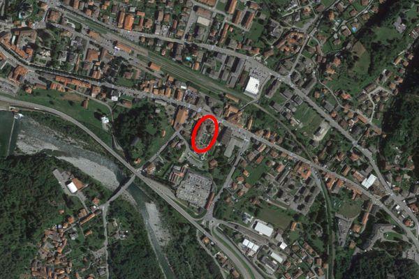 Immagine n1 - Planimetria - Vista aerea - Asta 13222
