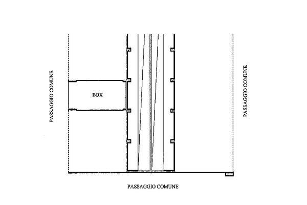 Immagine n1 - Planimetria - Piano secondo interrato - Asta 13222
