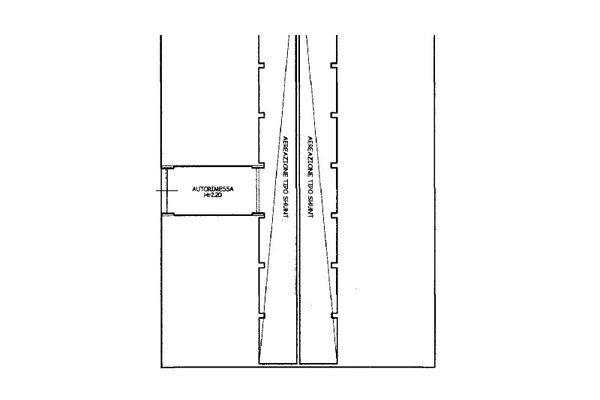 Immagine n1 - Planimetria - Piano secondo interrato - Asta 13223