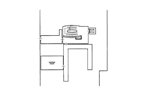 Immagine n2 - Planimetria - Piano interrato - Asta 13223