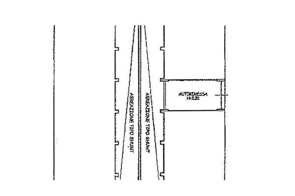 Immagine n2 - Planimetria - Piano secondo interrato - Asta 13224