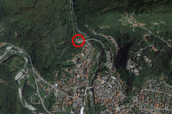 Immagine n1 - Planimetria - Vista aerea - Asta 13228