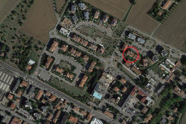 Immagine n0 - Planimetria - Vista aerea - Asta 13276