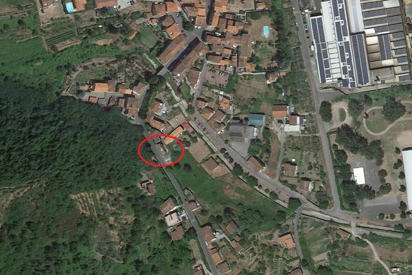 Immagine n0 - Planimetria - Vista aerea - Asta 13280