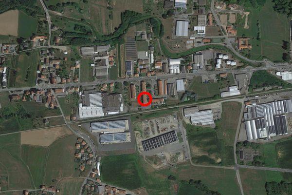 Immagine n0 - Planimetria - Vista aerea - Asta 13290