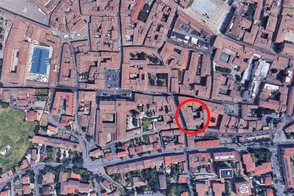 Immagine n0 - Planimetria - Vista aerea - Asta 133
