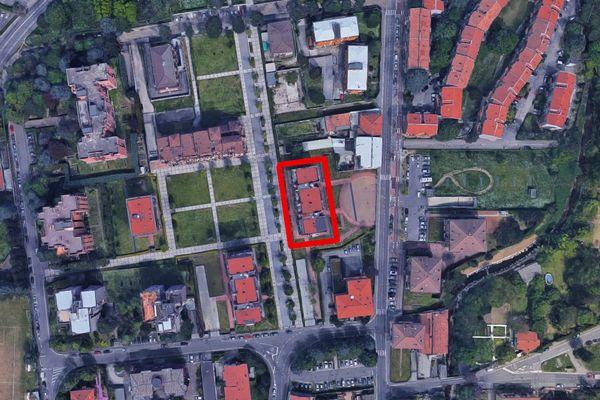 Immagine n0 - Planimetria - Vista aerea - Asta 13307