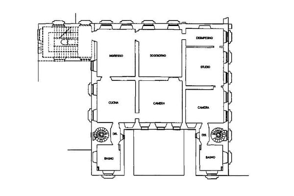 Immagine n1 - Planimetria - Piano primo - Asta 13309