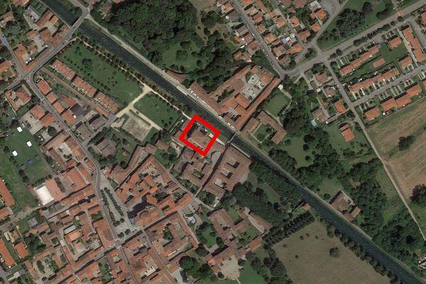Immagine n1 - Planimetria - Vista aerea - Asta 13310