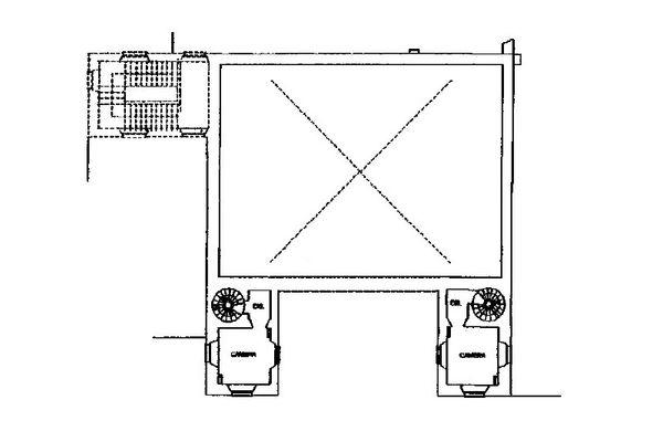 Immagine n2 - Planimetria - Piano soppalco - Asta 13310