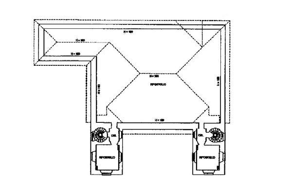 Immagine n3 - Planimetria - Piano terzo (sottotetto) - Asta 13310