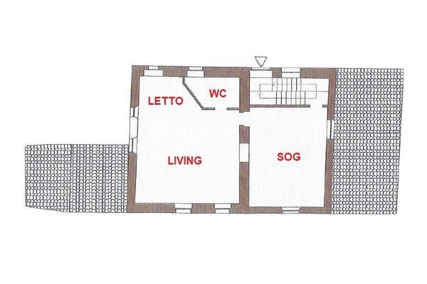 Immagine n2 - Planimetry - First floor - Asta 13390