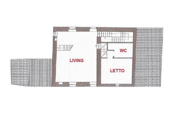 Immagine n3 - Planimetry - Second floor - Asta 13390