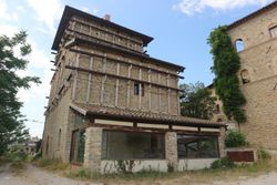 Historic tower damaged by earthquake and ground - Lot 13390 (Auction 13390)