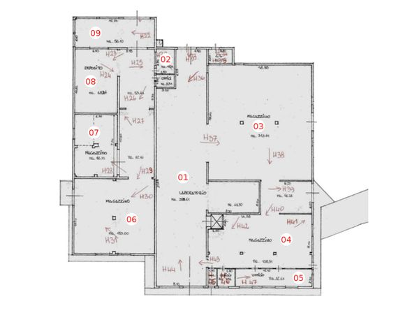 Immagine n8 - Planimetria - Piano terra - Asta 1351