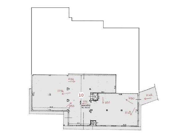 Immagine n0 - Planimetria - Piano seminterrato - Asta 1351