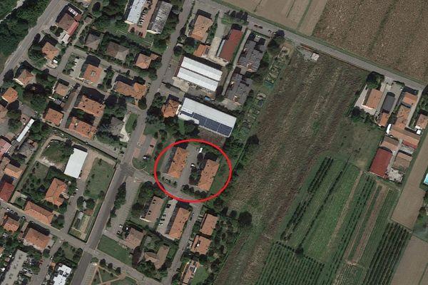 Immagine n0 - Planimetria - Vista aerea - Asta 13511