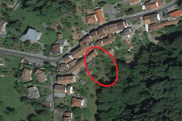 Immagine n0 - Planimetria - Vista aerea - Asta 13512