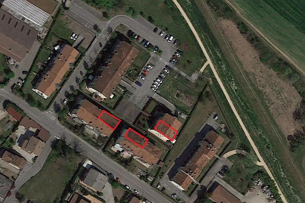 Immagine n0 - Planimetria - Vista aerea - Asta 13515