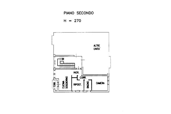 Immagine n1 - Planimetria - Appartamento sub 28 - Asta 13515