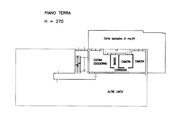Immagine n0 - Planimetria - Appartamento sub 51 - Asta 13515