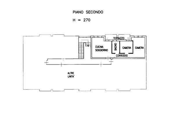 Immagine n0 - Planimetria - Appartamento sub 65 - Asta 13515