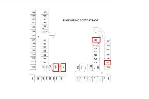 Immagine n0 - Planimetria - Piano interrato - Asta 13515