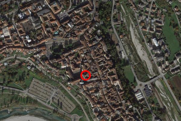 Immagine n2 - Planimetria - Vista aerea - Asta 13518